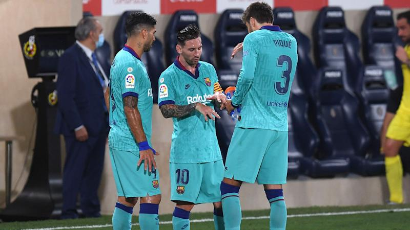 Pique urges Barcelona to 'fight to the end' in LaLiga
