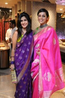 Sujata Assomull and Palak Shah at the Ekaya store launch