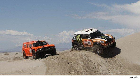 MINI Dakar rally