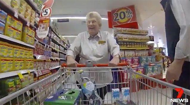 The 85-year-old has no plans to slow down. Source: 7 News