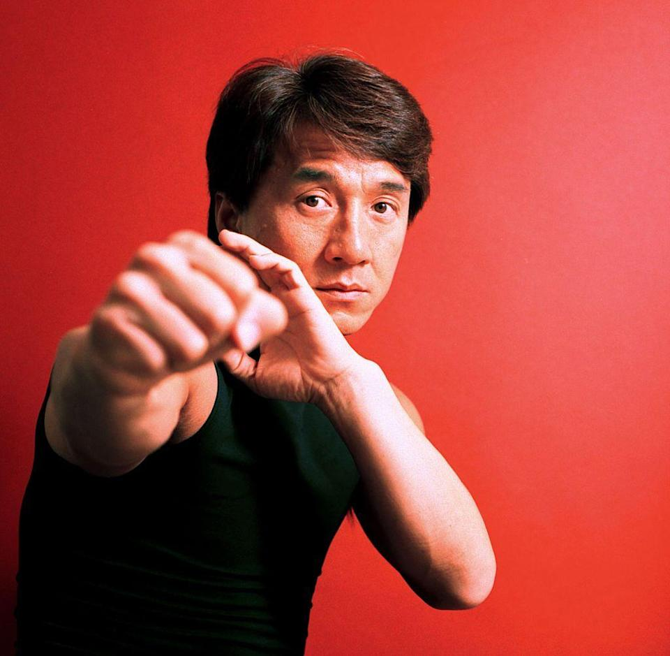 <p>Chan started his career working as a stuntman on Bruce Lee films. Chan has a little over an inch on his idol. </p>