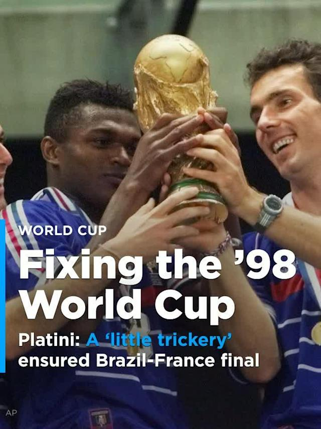 Former UEFA president Michel Platini said his home country did what it could to make sure that France and Brazil weren't going to meet until the World Cup Final in 1998.