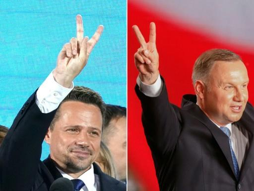 Poles stand in line for high-stakes presidential vote