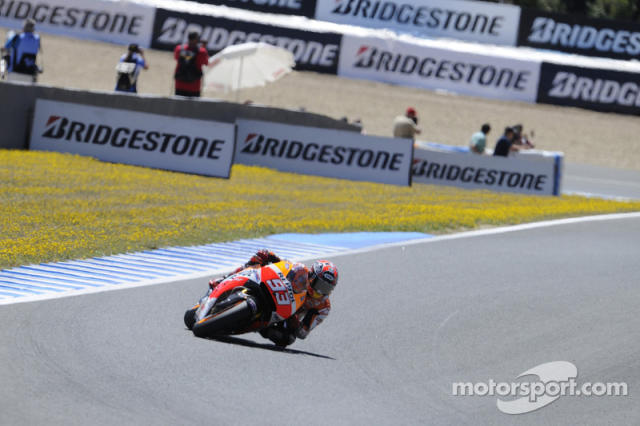 "2014: Marc Márquez <span class=""copyright"">Bridgestone Corporation</span>"