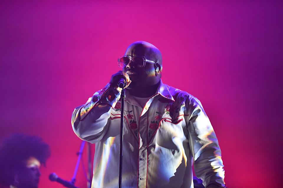 ATLANTA, GA - DECEMBER 13: CeeLo Green performs at CeeLo Green in Concert at Center Stage on December 13, 2019 in Atlanta, Georgia.(Photo by Prince Williams/Getty Images)
