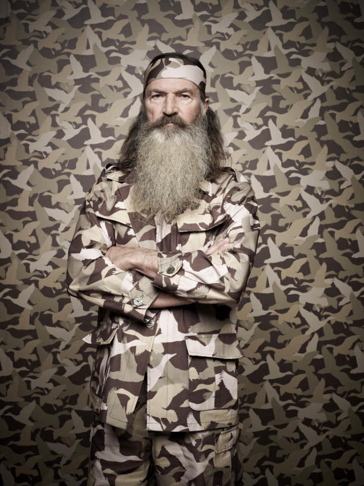 "Phil Robertson of the A&E series ""Duck Dynasty."""