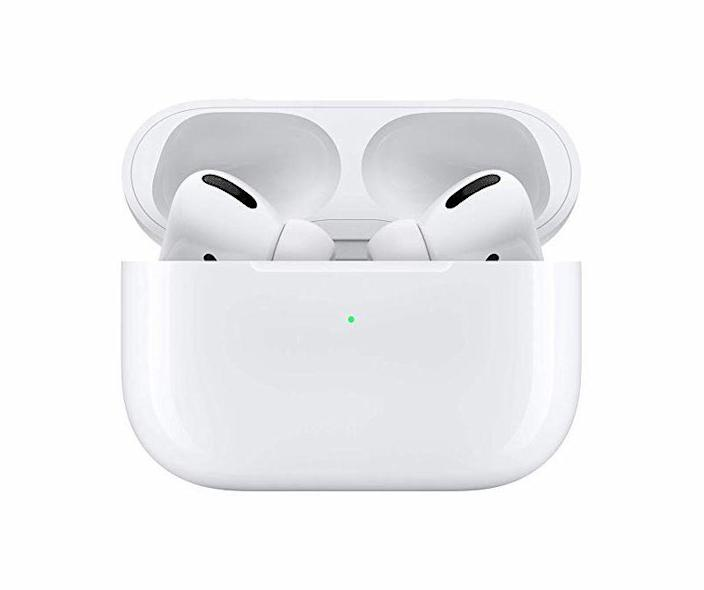 """<p><strong>Apple</strong></p><p>amazon.com</p><p><strong>$219.00</strong></p><p><a href=""""https://www.amazon.com/dp/B07ZPC9QD4?tag=syn-yahoo-20&ascsubtag=%5Bartid%7C10060.g.24445809%5Bsrc%7Cyahoo-us"""" rel=""""nofollow noopener"""" target=""""_blank"""" data-ylk=""""slk:Shop Now"""" class=""""link rapid-noclick-resp"""">Shop Now</a></p><p>Apple has redesigned its popular AirPods with silicone inserts for a more custom fit, and we found that the <a href=""""https://www.popularmechanics.com/technology/gadgets/a29687021/airpods-pro-review/"""" rel=""""nofollow noopener"""" target=""""_blank"""" data-ylk=""""slk:new noise-cancellation feature"""" class=""""link rapid-noclick-resp"""">new noise-cancellation feature</a> is super-effective on cross-country flights.</p>"""