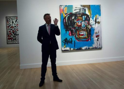 Auction record for Basquiat at $110.5 mn in New York