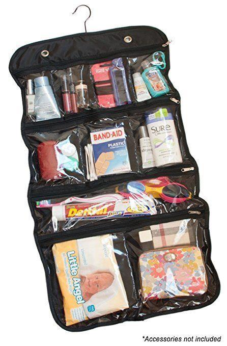 "Get it <a href=""https://www.amazon.com/Hanging-Cosmetic-Toiletry-Organizer-Packing/dp/B077J7WBBP/"" target=""_blank"">here</a>."