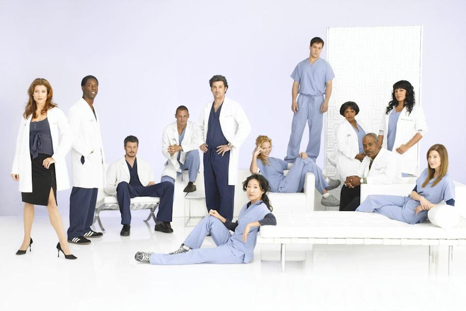 """<p><em>Grey's </em><span class=""""redactor-invisible-space"""">creator </span>Shonda Rhimes' inspiration came from her love of the medical shows she watched on the Discovery Channel. """"My sisters and I would call each other up and talk about operations we'd seen,"""" she said in an interview with <a href=""""http://www.oprah.com/omagazine/Oprah-Interviews-Greys-Anatomy-Creator-Shonda-Rhimes"""" rel=""""nofollow noopener"""" target=""""_blank"""" data-ylk=""""slk:Oprah"""" class=""""link rapid-noclick-resp"""">Oprah</a>. """"There's something fascinating about the medical world—you see things you'd never imagine, like the fact that doctors talk about their boyfriends or their day while they're cutting somebody open. So when ABC asked me to write another pilot, the OR seemed like the natural setting.""""</p>"""