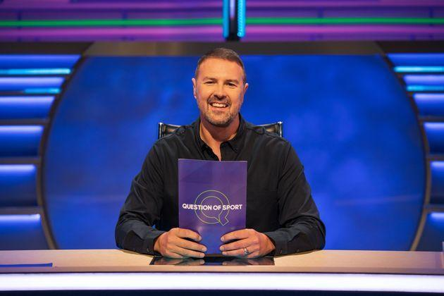 Paddy McGuinness is the new host of A Question Of Sport (Photo: BBC/James Stack)
