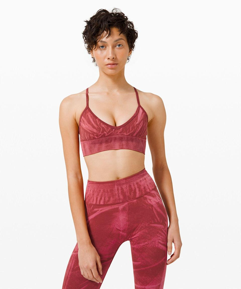 "<p><strong>Lululemon</strong></p><p>lululemon.com</p><p><a href=""https://go.redirectingat.com?id=74968X1596630&url=https%3A%2F%2Fshop.lululemon.com%2Fp%2Fwomen-sports-bras%2FEbb-to-Street-Bra-AB-Stone-Wash-MD%2F_%2Fprod9830052&sref=https%3A%2F%2Fwww.seventeen.com%2Ffashion%2Fg34041215%2Flululemon-black-friday-deals-2020%2F"" rel=""nofollow noopener"" target=""_blank"" data-ylk=""slk:Shop Now"" class=""link rapid-noclick-resp"">Shop Now</a></p><p><strong><del>$58</del> $29 (50% off)</strong></p><p>ICYMI, underwire is cancelled until further notice.</p>"