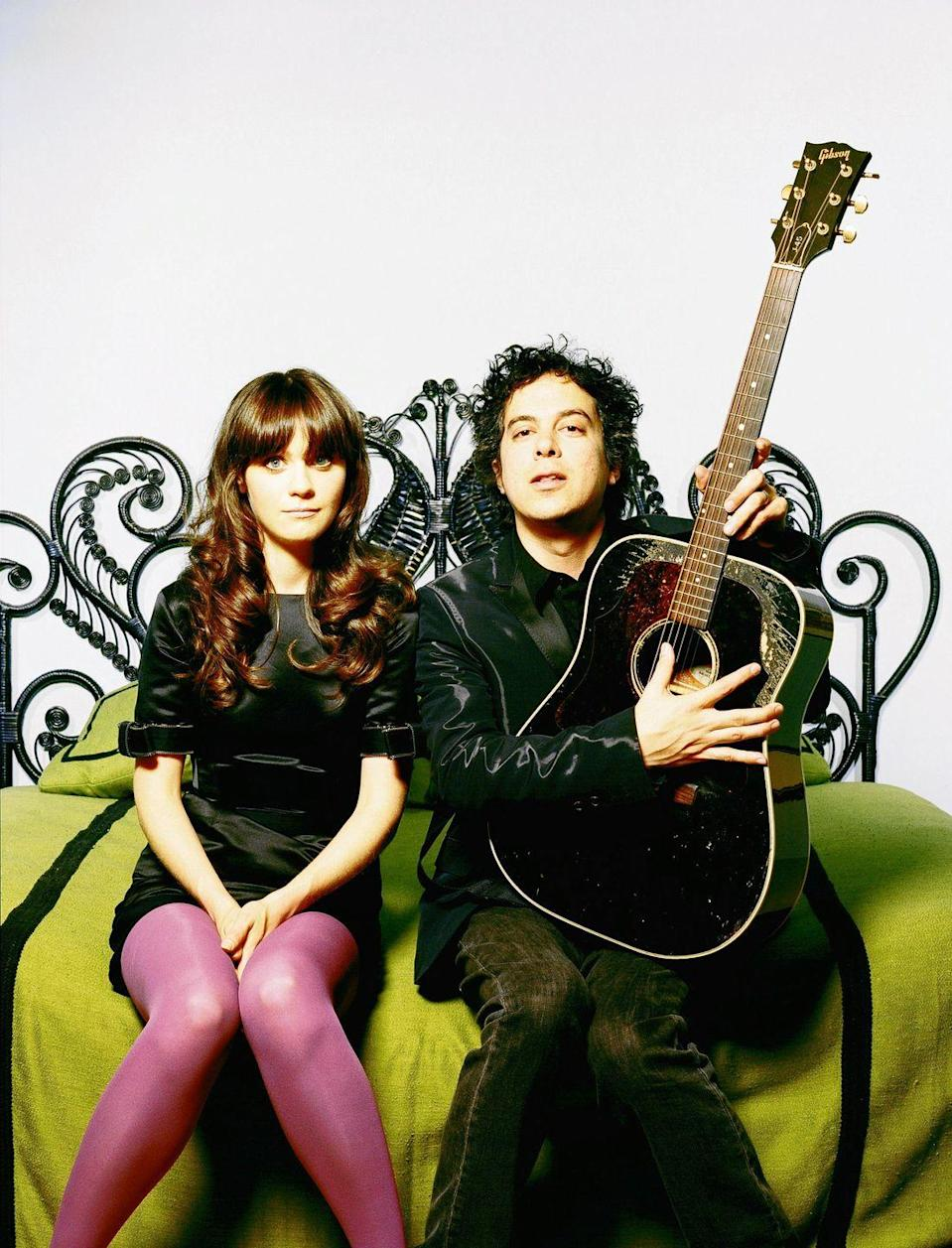 """<p>She & Him, the duo comprised of Elf actress Zooey Deschanel and musician M. Ward, have an old-timey vibe to their music, so this is good for anyone looking for a retro Christmas mood.</p><p><a class=""""link rapid-noclick-resp"""" href=""""https://www.amazon.com/dp/B005V4FJXI?tag=syn-yahoo-20&ascsubtag=%5Bartid%7C10055.g.2680%5Bsrc%7Cyahoo-us"""" rel=""""nofollow noopener"""" target=""""_blank"""" data-ylk=""""slk:AMAZON"""">AMAZON</a> <a class=""""link rapid-noclick-resp"""" href=""""https://go.redirectingat.com?id=74968X1596630&url=https%3A%2F%2Fmusic.apple.com%2Fus%2Falbum%2Fa-very-she-him-christmas%2F467461972&sref=https%3A%2F%2Fwww.goodhousekeeping.com%2Fholidays%2Fchristmas-ideas%2Fg2680%2Fchristmas-songs%2F"""" rel=""""nofollow noopener"""" target=""""_blank"""" data-ylk=""""slk:ITUNES"""">ITUNES</a> </p>"""