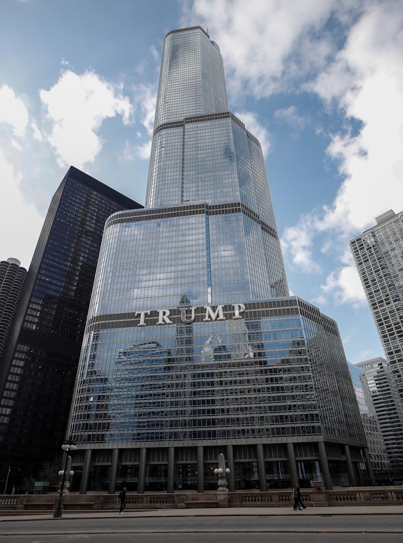 Trump International Hotel & Tower in Chicago, Illinois, U.S., March 18, 2019. REUTERS/Kamil Krzaczynski