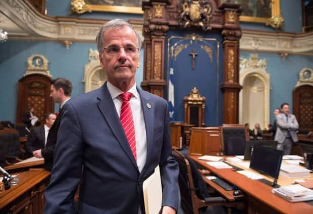 In October 2017, Liberal MNA Guy Ouellette was arrested by the province's anti-corruption unit. Now an independent, he has accused the organization of intimidation. (Jacques Boissinot/Canadian Press - image credit)