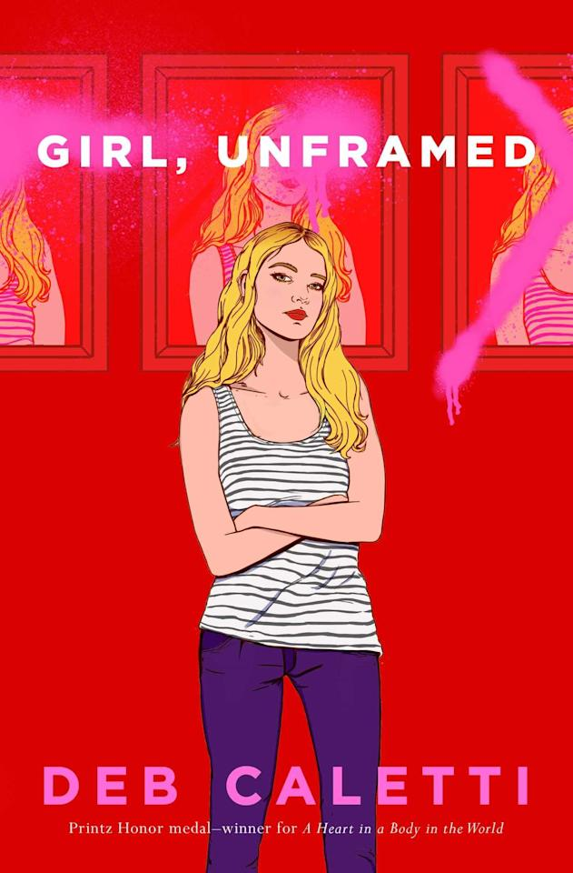 """<p>Legendary YA author Deb Caletti's latest novel, <a href=""""https://www.popsugar.com/buy?url=http%3A%2F%2Fwww.amazon.com%2FGirl-Unframed-Deb-Caletti%2Fdp%2F1534426973&p_name=%3Cstrong%3EGirl%2C%20Unframed%3C%2Fstrong%3E&retailer=amazon.com&evar1=buzz%3Aus&evar9=47536491&evar98=https%3A%2F%2Fwww.popsugar.com%2Fphoto-gallery%2F47536491%2Fimage%2F47536524%2FGirl-Unframed-by-Deb-Caletti&prop13=api&pdata=1"""" rel=""""nofollow"""" data-shoppable-link=""""1"""" target=""""_blank"""" class=""""ga-track"""" data-ga-category=""""Related"""" data-ga-label=""""http://www.amazon.com/Girl-Unframed-Deb-Caletti/dp/1534426973"""" data-ga-action=""""In-Line Links""""><strong>Girl, Unframed</strong></a>, revolves around 16-year-old Sydney Reilly, who reluctantly returns home to San Francisco at the end of her school year to live with her self-centered movie-star mother for the summer. The situation is made worse when she discovers that her mother is involved with a shady art dealer, Jake, whose interest in Sydney becomes increasingly intense. </p> <p><em>Out June 23</em></p>"""