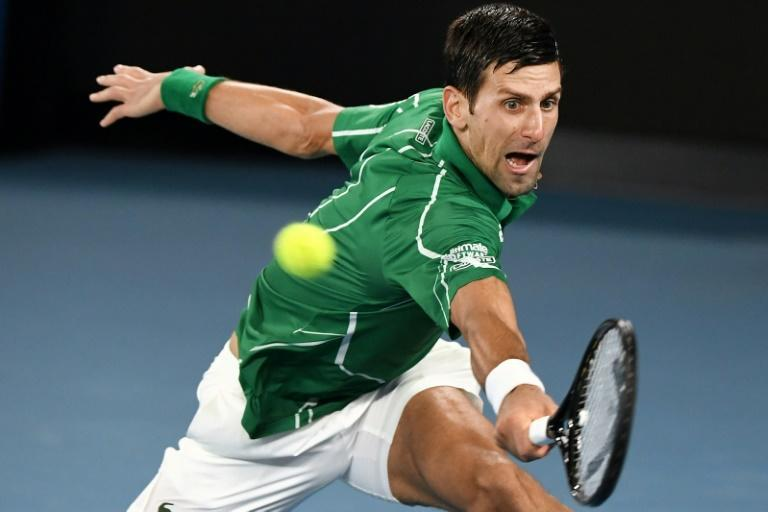Serbia's Novak Djokovic is the defending men's champion at the Australian Open