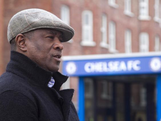 Paul Canoville wants to see stadium bans introduced to English football as a means to punish racist fans (Rex Features)