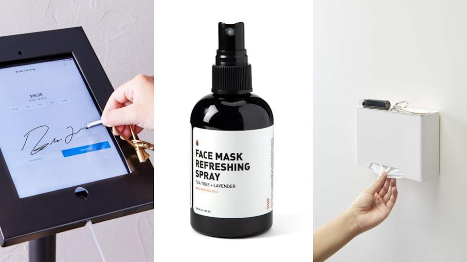 These are the weird, but also kind of useful, pandemic products that you didn't know you needed. (Photo: HuffPost Finds)