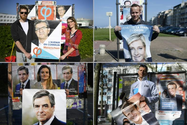 The two-round election is the most unpredictable in France's post-war history
