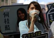 Prominent Hong Kong pro-democracy activist Agnes Chow has also been arrested