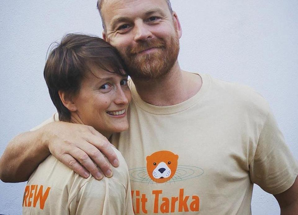 Kit's parents Sarah Higson and James de Malplaquet are now raising awareness for neonatal herpes and the dangers of the virus. Source: Kit Tarka Foundation