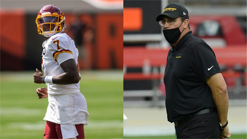Michael Lombardi: Ron Rivera will 'lose his team' if he keeps Dwayne Haskins at QB
