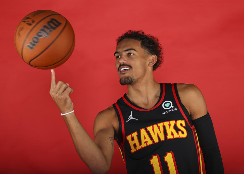 Trae Young and the Hawks are looking to build on last season's success. (Photo by Todd Kirkland/Getty Images)