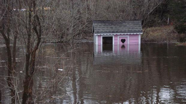 Bracebridge, Ont., faced high floodwaters last weekend along with much of Ontario cottage country.