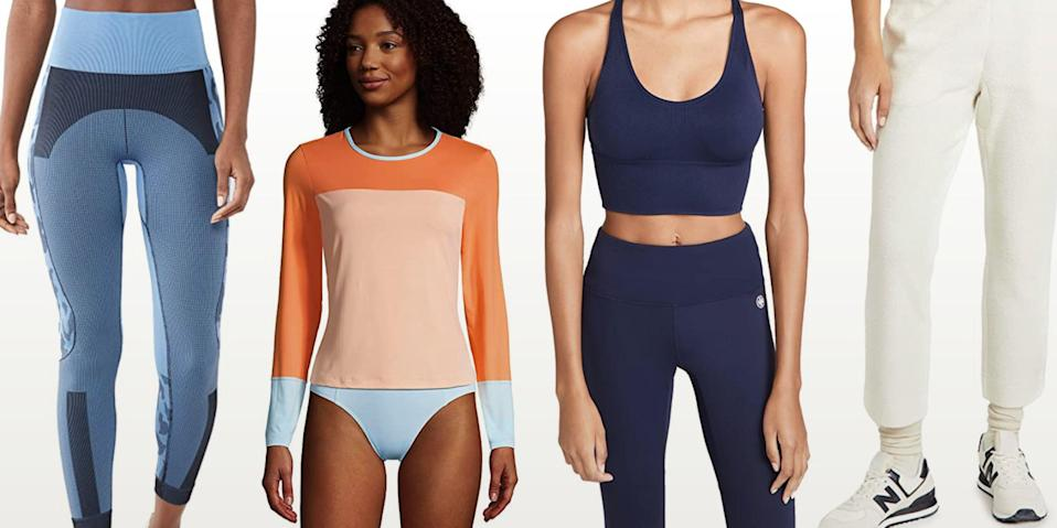 """<p class=""""body-text"""">If you look hard enough on Amazon, you can discover some <a href=""""https://www.runnersworld.com/gear/g36364738/best-amazon-sales-right-now/"""" rel=""""nofollow noopener"""" target=""""_blank"""" data-ylk=""""slk:seriously sweet surprises"""" class=""""link rapid-noclick-resp"""">seriously sweet surprises</a>, and our latest find is just that. On a recent search through the depths of the online retailer, we realized so many beloved activewear brands, like Lululemon, Hoka One One, and so many other labels, were up for grabs (and for a fraction of the price.) So if you need <a href=""""https://www.runnersworld.com/gear/g35971059/amazon-secret-running-shoe-sale/"""" rel=""""nofollow noopener"""" target=""""_blank"""" data-ylk=""""slk:a new pair of running shoes"""" class=""""link rapid-noclick-resp"""">a new pair of running shoes</a>, simply need an excuse to buy another set of leggings, or have your heart set on a <a href=""""https://www.runnersworld.com/gear/a21731269/best-sports-bras/"""" rel=""""nofollow noopener"""" target=""""_blank"""" data-ylk=""""slk:new sports bra"""" class=""""link rapid-noclick-resp"""">new sports bra</a>, look no further.</p><p>Check out other top deals below and get in on all the workout gear realness. Act quickly, because a shopping secret as good as this one is bound to get out fast. </p>"""