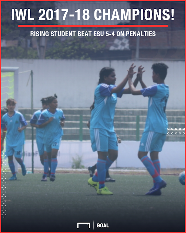 The Odisha-based outfit defeated Eastern Sporting Union 5-4 on penalties that went into sudden death...