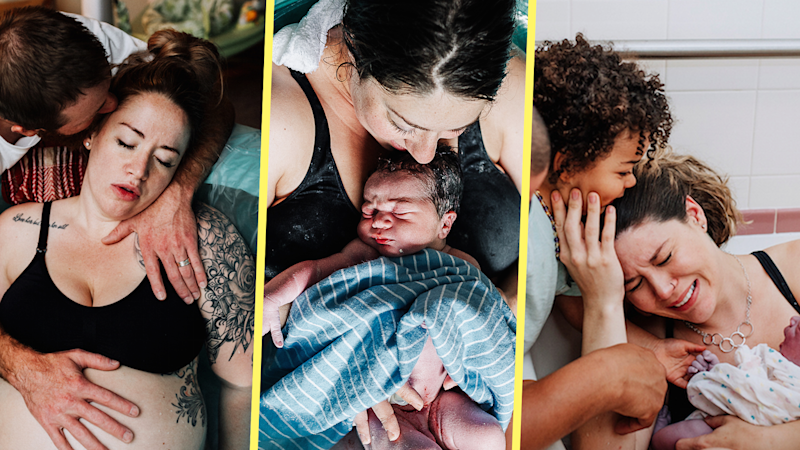 These Stunning Water Birth Photos Will Make You Want To Give