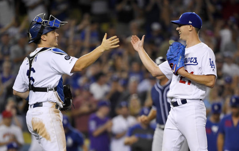 Buehler strikes out 15 as Dodgers top Padres 4-1