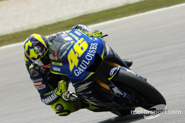 "#46 Valentino Rossi <span class=""copyright"">Gauloises Fortuna Racing</span>"
