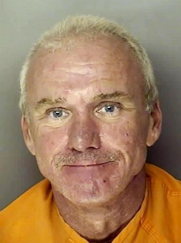 Bobby Paul Edwards, a South Carolina restaurant manager who has been ordered held without bond on charges of abusing and enslaving a mentally challenged employee. (J. Reuben Long Detention Center / AP)