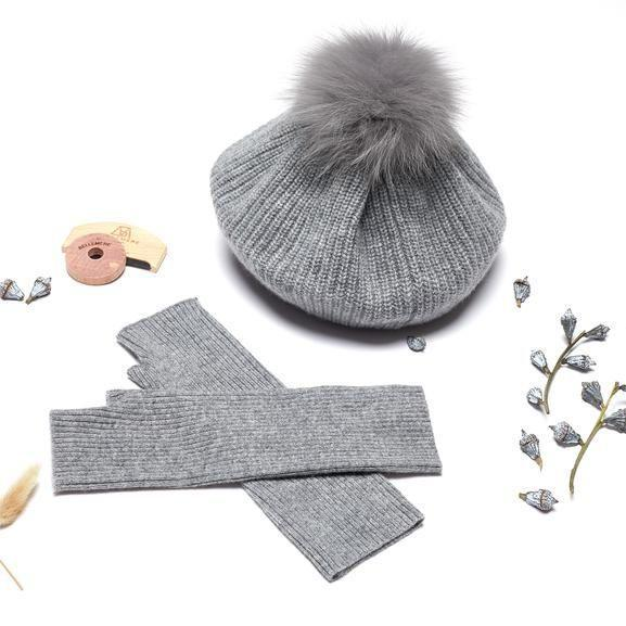 """<p><strong>Bellemere New York</strong></p><p>bellemerenewyork.com</p><p><strong>$156.00</strong></p><p><a href=""""https://bellemerenewyork.com/products/grey-cashmere-beret-set"""" rel=""""nofollow noopener"""" target=""""_blank"""" data-ylk=""""slk:Shop Now"""" class=""""link rapid-noclick-resp"""">Shop Now</a></p><p>A cashmere winter set is a solid choice if you're in that awkward in-between stage of the relationships where things aren't exactly new, but a piece of jewelry might be too much of a gesture. Bellemere has plenty of gift options for both men and women, so you can find the perfect cashmere item for their taste.</p>"""