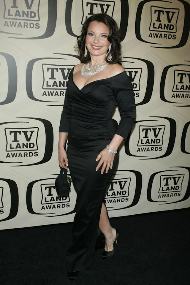 Fran Drescher arrives at the 10th Annual TV Land Awards at the Lexington Avenue Armory on April 14, 2012 in New York City.