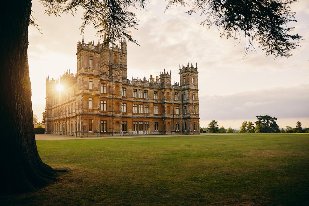 "The fictional home to generations of the Crawley family <a href=""https://people.com/travel/live-like-a-crawley-you-can-now-book-the-downton-abbey-castle-on-airbnb/"">can be yours to inhabit for one night only</a> if you're first to book on October 1 - and <a href=""https://www.airbnb.com/rooms/38373507?source_impression_id=p3_1568738414_5qzT3unqlAg4%2FRA4&irgwc=1&irclid=RuRyJxVtNxyJWmTwUx0Mo38zUkn0AZSThSKkSE0&ircid=4273&sharedid=&af=49497874&iratid=9627&c=.pi73.pk4273_10078&irparam1="">at the very <em>un-</em>royal price of $149/night</a>, you can save the rest of your cash for renting gowns and jewels for the most epic slumber party ever."