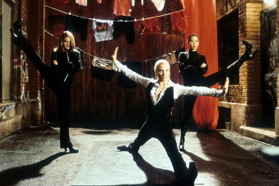 <p>The actresses, who played elite, crime-fighting detectives in the movies, trained for up to 8 hours a day leading up to their well-heeled fight sequences.</p>
