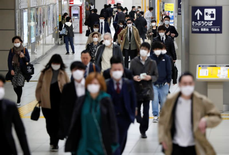 'Escape from Tokyo' hot topic in Japan as state of emergency looms