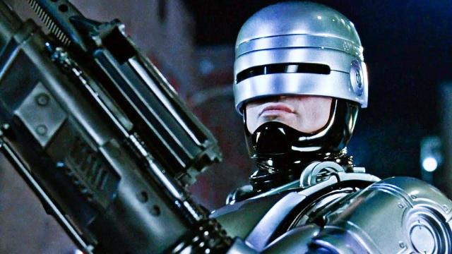 Peter Weller as Murphy in Robocop (Credit: Orion)