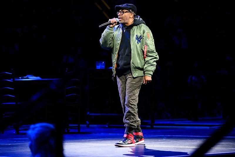 Spike Lee at Madison Square Garden | Jenny Anderson