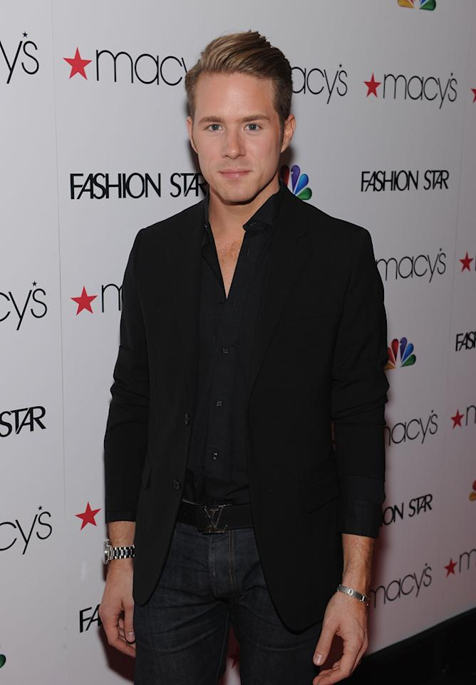 "Theodore Leaf attends the ""<a target=""_blank"" href=""http://tv.yahoo.com/fashion-star/show/47285"">Fashion Star</a>"" celebration at Macy's Herald Square on March 13, 2012 in New York City."