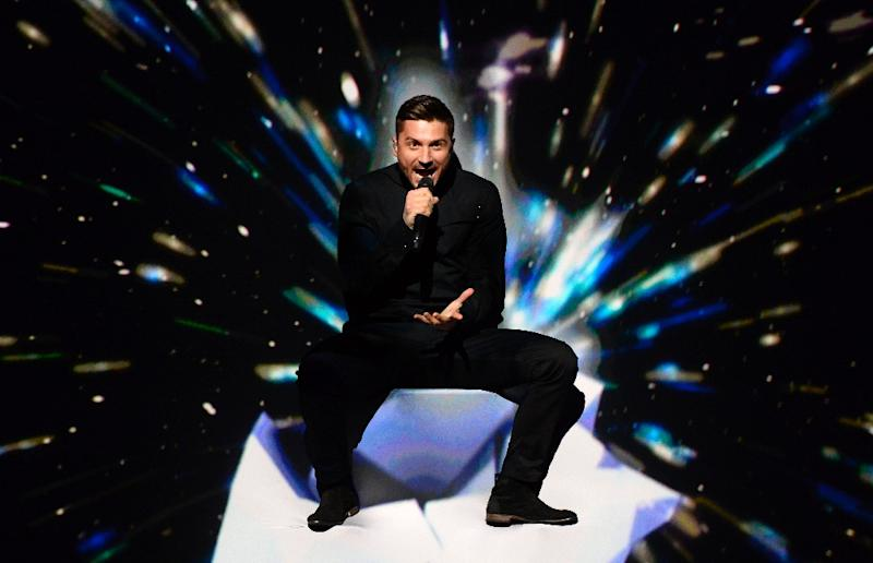 Russia's Sergey Lazarev had been the favourite before the Eurovison song contest on May 14, 2016, but on the night he finished third (AFP Photo/Jonathan Nackstrand)