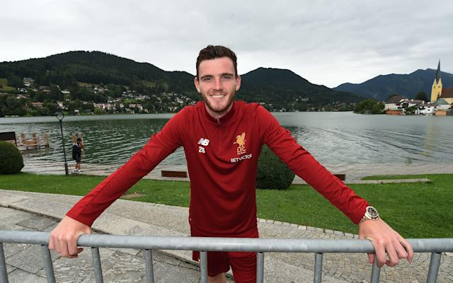 """Most successful sports people can recall one crossroads in a career, an event that made the difference between turning professional and reciting the """"could have been a contender"""" speech. For Liverpool's new £10 million left-back Andy Robertson, there is already a catalogue of such defining moments. At 15, Robertson was told by Celtic he was too small and timid to play at the highest level, a crushing disappointment he says inspired him to prove the sceptics wrong. By 18, now working in the corporate department at Hampden Park while playing amateur football for Queen's Park, Robertson was given a deadline by his supportive but realistic parents; secure a professional contract in the next 12 months or consider alternatives. Whatever challenges face him at Anfield, Robertson is used to playing for the highest stakes. Robertson is on pre-season tour with Liverpool in Germany """"For the first few years when I was in the youth side at Queen's Park it was fine because I was still at school,"""" says Robertson. """"I was grateful to my mum and dad because [after leaving school] they said, 'We will give you this season to try and push on and make that dream a reality, but after that you might have to look at other options'. I was going down the line of needing to apply for university or college or maybe becoming a PE teacher or something in sports science. Queen's Park was amateur so you do not get paid. You need to make a living with that. """"I worked in Hampden Park taking phone calls and [ticket] orders for games. We trained twice a week at night and played games on Saturday, so I was working 9 to 5 and then having to train. """"There was a guy, Andy McGlennan, who had worked at Queen's Park for years and he was high up at Hampden so sorted a lot of the boys out with jobs. He looked after us and made sure I had some money in my pocket with a bit of hard work. He knew what the dream was and helped me."""" Liverpool XI of great Scots Rejection by Celtic, Robertson's boyhood side who as a f"""