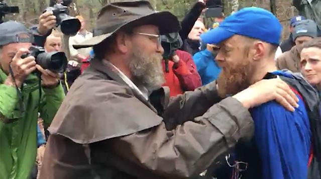 """<p>The Barkley Marathons consist of five 20-mile loops (although sometimes they tend to be longer) within Tennessee's Frozen Head State Park. It's arguably one of the toughest ultramarathons in the world and just 14 men had previously finished the 100-mile race under the 60-hour cut-off.</p><p>The race garnered fame after a documentary with the ominous subtitle """"<a href=""""http://www.imdb.com/title/tt2400291/"""" rel=""""nofollow noopener"""" target=""""_blank"""" data-ylk=""""slk:The Race That Eats Its Young"""" class=""""link rapid-noclick-resp"""">The Race That Eats Its Young</a>"""" was released in 2016. In addition to its 60,000 feet of elevation gain, which adds to the physical difficulty, the race has its fun quirks. It is limited to 40 runners through a secretive race registration process that includes a $1.60 entry fee and requires runners to bring a license plate from their home state or country. There's no official start time but it can go off at any time from midnight to noon on the designated race day. A conch is sounded to signal one-hour until the start and then the race begins when a cigarette is lit by race director Gary """"Lazarus Lake"""" Cantrell.</p><p>Participants have to locate pages from books that have been scattered throughout the park. This ensures that the participant followed the race map. Each runner is given a race number to correspond with the book's page that they need. Competitors get a new race number and a new page requirement for each lap. There are no aid stations or markers so runners must follow a map that is provided the night before the start.</p><p>The 2017 edition of the race started over the weekend and the 60-hour cut-off was set for 1:42 p.m. ET Monday.</p><p>John Kelly, a Washington, D.C. resident, became the 15th finisher in race history by completing the race in 59 hours and 30 minutes.</p><p>Gary Robbins, a runner from North Vancouver, B.C., was not so lucky. He reached the finish line just six seconds over the 60-hour cut-off time. He was unable to lo"""