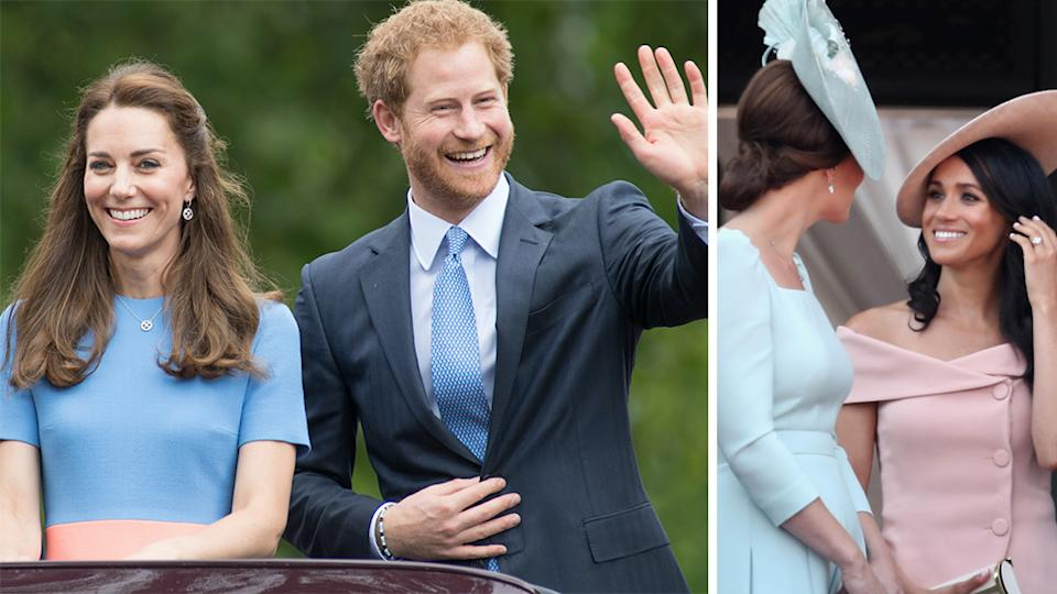 harry and kate - getty