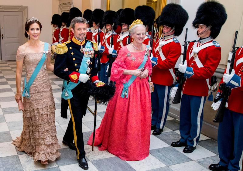 According to reports, the Tasmania-born mum-of-four is set to become Queen, after being told by Queen Margrethe that it's time for her to hand over the reigns to the younger generation of the Danish royal family. Photo: Getty Images