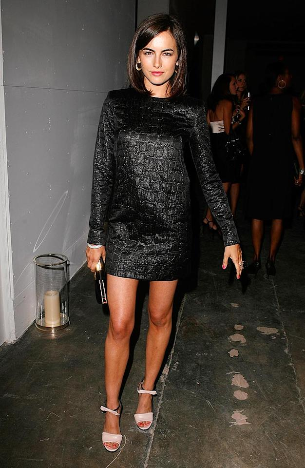 """Brunette beauty Camilla Belle shines in her LBD. Jeff Vespa/<a href=""""http://www.wireimage.com"""" target=""""new"""">WireImage.com</a> - April 23, 2009"""