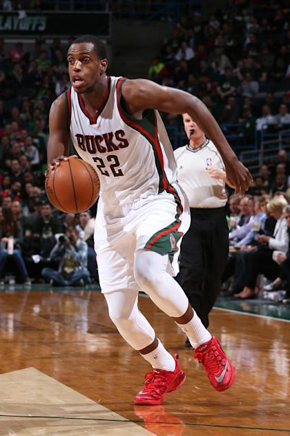 Khris Middleton got five years and $70 million to make a two-way difference. (Gary Dineen/NBAE/Getty Images)